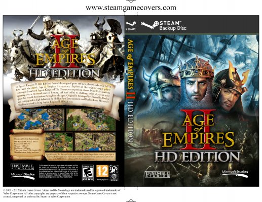 Steam Game Covers: Age of Empires II HD Box Art