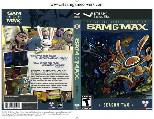 Sam and Max Complete Season Two