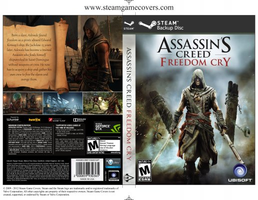 Steam Game Covers Assassin S Creed Freedom Cry Box Art