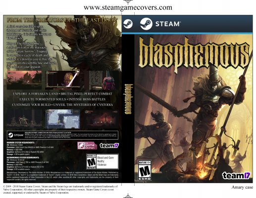 graphic regarding Game Covers Printable called Steam Sport Handles - Higher Excellent Art For Steam Backup Discs