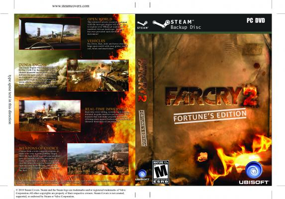 Steam Game Covers: Far Cry 2 Box Art
